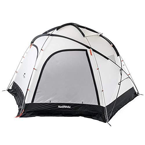 SQZQ 8-10 - Mann - Zelt von 8-10 Personen Gruppen markise Outdoor Camping ausrüstung sechseck, Beige, 8 Oder mehr