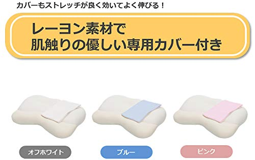 CCM枕オフホワイトプレミアム低反発空間フィットの夢まくらSMH-001