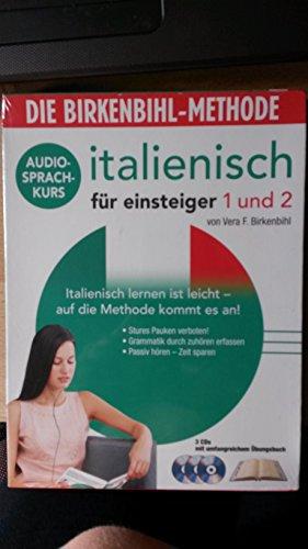 Italienisch für Einsteiger 1 + 2 - Die Birkenbihl-Methode (3 CDs + Buch)