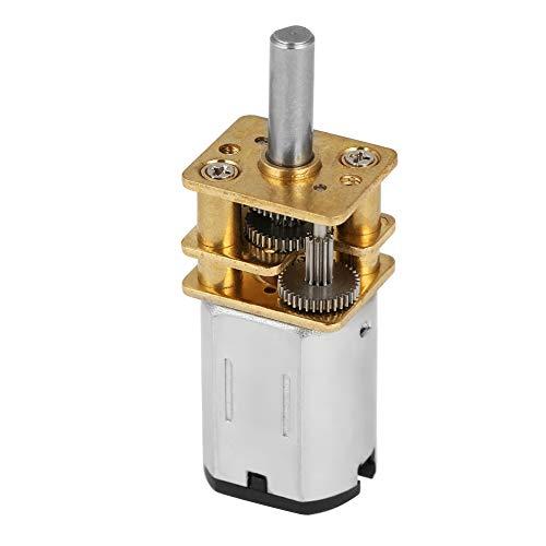 Akozon Mini Drehzahlminderungsmotor N20 DC3V 6V 12V 200 U/min Drehzahlminderungsgetriebe Gleichstrommotor DIY...