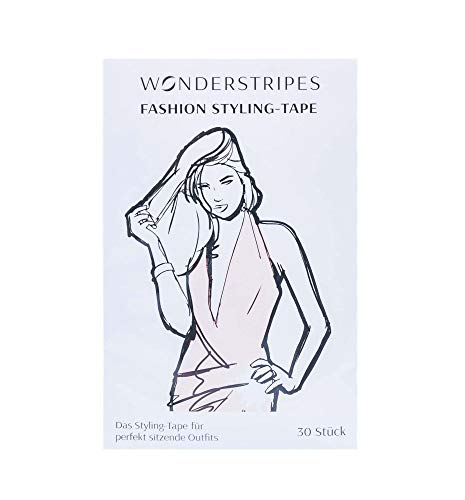 Wonderstripes Fashion Tape, styling pleisters, decolletés en outfits bevestigen, 30 stuks