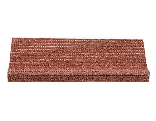 Primaflor - Ideen in Textil Sicherheits-Stufenmatte Anti-Rutsch Matte für Außentreppen - Terracotta, Rutschhemmende Sicherheitsstufenmatten für Außenbereiche