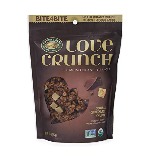 Nature's Path Organic Love Crunch Premium Granola, Double Chocolate Chunk, 11.5 Ounce (Pack of 6)