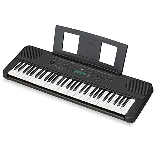 ヤマハ ポータブルキーボード 61鍵盤 ブラック PSR-E360B 便利なレッスン機能やタッチレスポンスを搭載