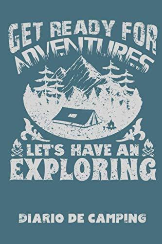 Diario de camping: Diario de viaje para las vacaciones en el camping I Lugar para 29 campings I Get Ready For Adventures