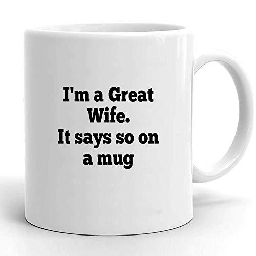 Egoa Kaffeebecher Frau Für Frau Frau Lustige Frau Frau Für Frau Lustige Frau Frau Große Frau Frau Büro Kaffeebecher Porzellantasse Haltbare Unisex Keramik 330Ml Elegante Geburtstagsmil