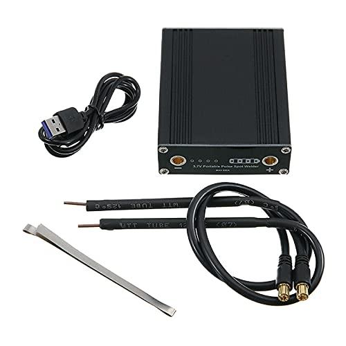 Milageto Palmare Spot - Soldador portátil con hoja de níquel de liberación rápida para la batería para manualidades