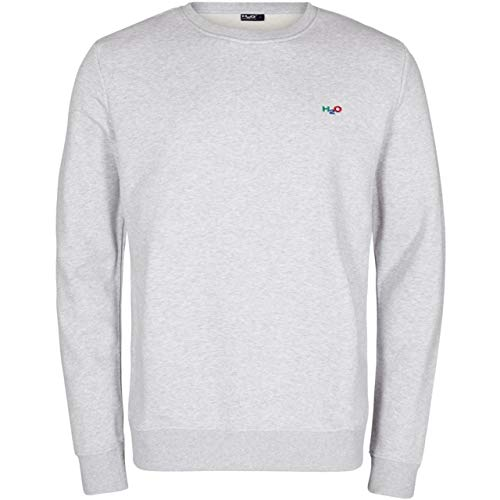 H2O Damen Sweatshirt Lind Logo Grey Melange - XXS