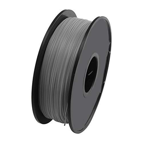 BJYX 3D Printer Printing Filament 1.75mm 1KG Spool Accuracy PLA Material UK (Color : Grey)