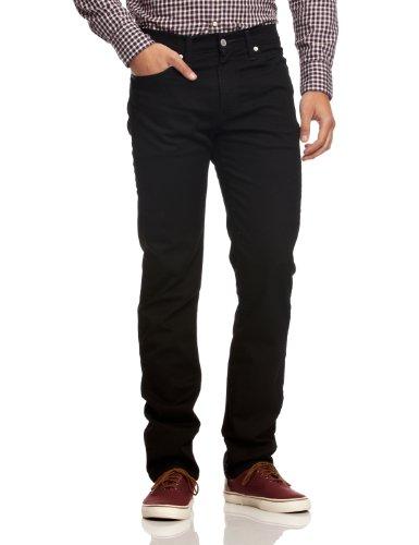Levi's 511 Slim Fit – Jeans pour hommes à coupe ajustée avec stretch, Noir (Moonshine 0966), 30W/30L