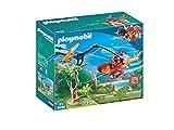 Playmobil-9430 Helicóptero con Pterosaurio, Multicolor (9430)