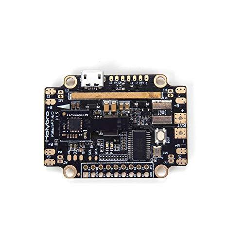 Alician Holybro Kakute F7 AIO V1.5 STM32F745 Controlador de Vuelo con OSD PDB Barómetro del Sensor de Corriente para RC Drone