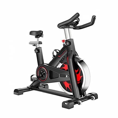 CGBF-Bicicleta de Ejercicio de Resistencia Magnética,Bicicleta de Ciclismo Interior Estacionaria con Soporte para iPad,Bicicleta de Entrenamiento Ultra Silenciosa de Capacidad,440 Libras