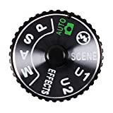 Shenligod Mode Dial Top Cover Function Plate Interface Cap with Base...
