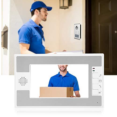 Alinory 3 monitores Timbre de Alta Seguridad Bajo Consumo de energía Videoportero de(European Standard (100-240v))