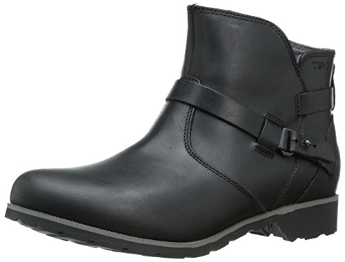 Teva Damen Delavina Ankle Kurzschaft Stiefel, Schwarz (Black- BlkBlack- Blk), 38 EU