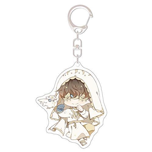 Preisvergleich Produktbild Tiffley Time Identity V Schlüsselanhänger,  Anime Kawaii Schlüsselbund für Rucksack,  Schlüssel und Mäppchen(Style 09)