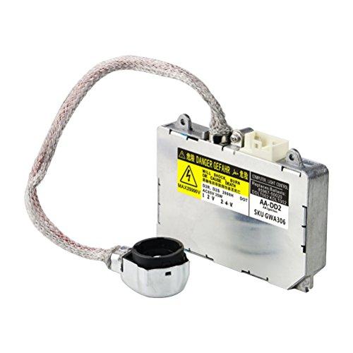 HID Ballast with Ignitor - Headlight Control Unit Module - Replaces 81107-2D020, 85967-0E020, DDLT002, KDLT002 - Compatible with Toyota & Lexus Vehicles - Prius, Avalon, Sienna, ES300, ES330, LS430