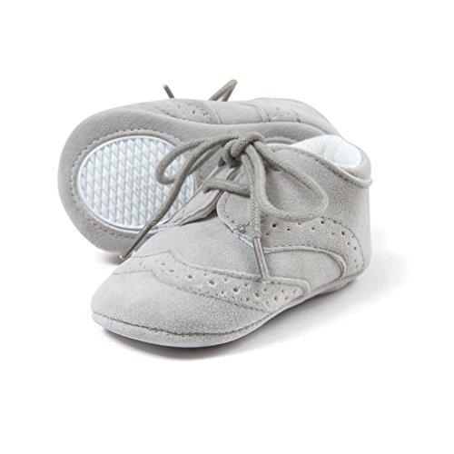 Kfnire Zapatos De Bebé De Cuero Suave, Suela Antideslizante Suave Zapatillas De Deporte Para El...