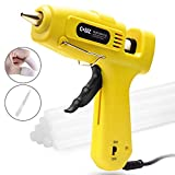 Hot Glue Gun, Cobiz Full Size (Not Mini) 60/100W Dual Power High Temp Heavy Duty Melt Glue Gun Kit with 10 Pcs Premium Glue Sticks(0.43'' x 8') for Arts & Crafts Use,Christmas Decoration/Gifts