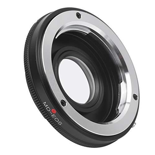 Anillo adaptador de lente de montura MD, Lente de montura MD a adaptador de cuerpo de cámara con montura EF / EF-S, apto para cámara 5D4, 5D3, 6D2, 6D, 90D, 80D, adaptador de montura de lente MD-EOS d