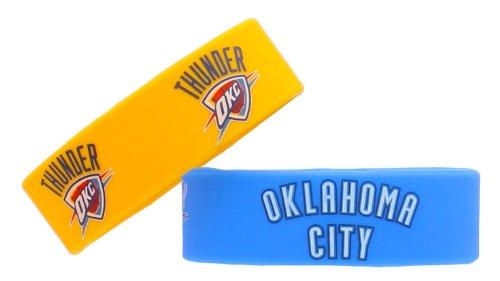 NBA pulsera hule de silicona Set, 2-pack, Multi-Color