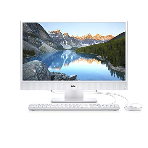 2019 Dell Inspiron All-in-One Desktop Computer, AMD A9-9425 Up to 3.7GHz, 8GB DDR4 RAM, 1TB HDD, 23.8' FHD Touchscreen, AC WiFi, Bluetooth 4.1, USB 3.1, HDMI, White, Windows 10 Home