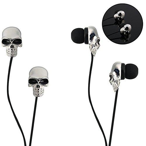 Lzdingli In-Ear Kopfhörer,Ohrhörer Audio Stereo Bass Sport In-Ear Headsets Earphones Headphones mit Mikrofon Kompatibel