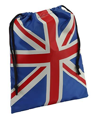Trousse de toilette motif bottes Union Jack