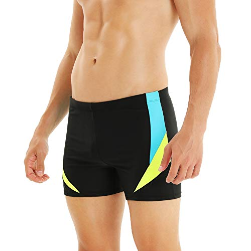 WHCREAT Mens Swimming Trunks Sports Swimwear Beach Board Shorts Chlorine...