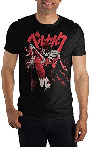 Bioworld Berserk Bloody Guts Anime T-Shirt (Small)Black