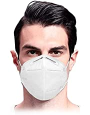 KN95 Face Mask 4 Layer Mouth Cover, Protective Face Covers