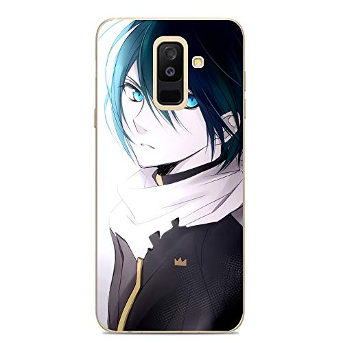 LUOKAOO Ultra TPU Silicone Rubber Gel Edge Protection Cover Case for Samsung Galaxy A6 Plus/J8 2018/A9 Star Lite-Japanese Yato-Noragami Anime Art 5