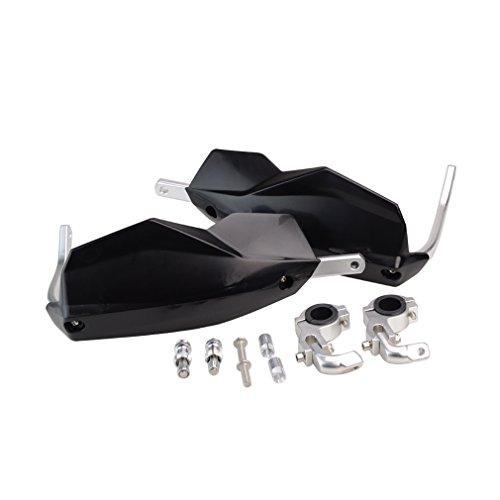 GOOFIT Universal 22mm 28mm Manillar De Motocicleta Protector De Manillar Protector De Manillar Adecuado Para Scooter Kart Negro