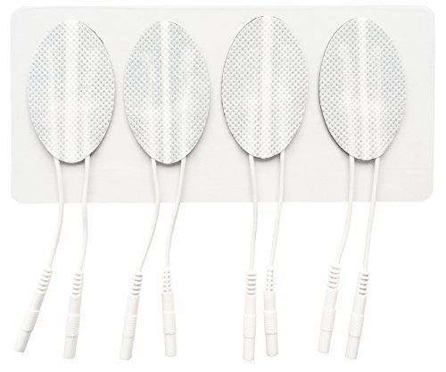 Tenscare E-CM3050-DE Gesichtselektroden - 4 Wiederverwendbare Elektroden, Selbstklebend, Vorgehärtete Gesichtspflege - zur Faltenstraffung und Reduktion