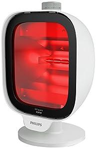 Philips PR3120/00 InfraCare - Lámpara infrarroja para tratamiento profundo del dolor muscular, 300 W