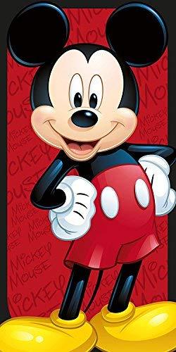 Disney Serviette De Plage Polyester, Rouge, 140 x 70 Cm