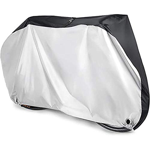 Bicycle Protective Cover S-XL Size Waterproof Motorbike Bike Cover Dustproof UV Protective Outdoor Cycling Bicycle Rain Cover,M(0.27kg)180X60X90cm