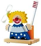 Sevi 81654, Il Clown Blu, Tazza portaspazzolino con Clessidra