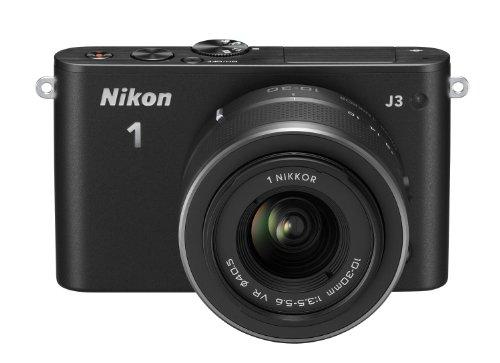 Nikon 1 J3 - Cámara Evil de 14.2 MP (Pantalla de 3', Objetivo(s) 10-110mm, vídeo 1080p...