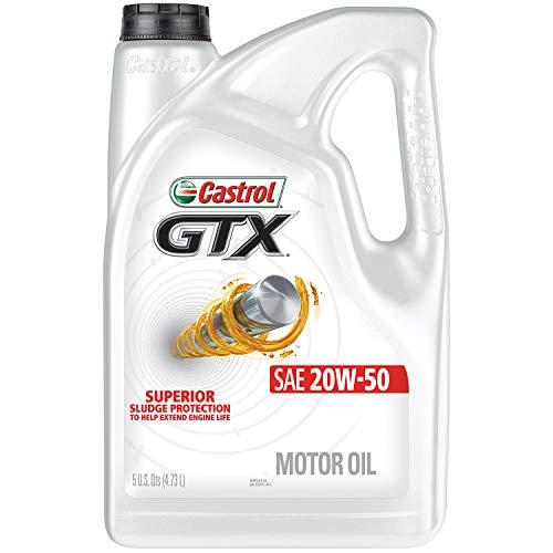 Castrol 03095 GTX 20W-50 Motor Oil