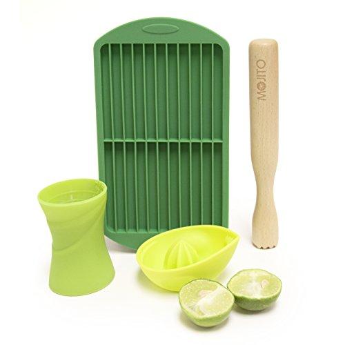 Mojito Kit - Set de fabricación de cócteles - incluye exprimidor de...