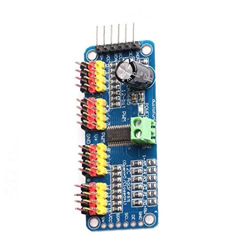 PCA9685 16 Kanal / 12-Bit-PWM-Servotreiber, I2C / IIC Control Board für Roboter und Raspberry Pi, Motor Driver