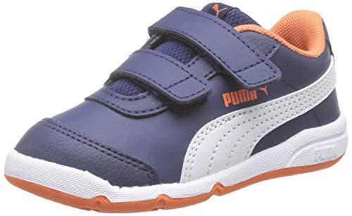 PUMA Stepfleex 2 SL VE V Inf, Unisex Bebé, Azul (Peacoat White-Firecracker), 20 EU