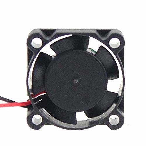 Solanton 30 mm x 30 mm x 10 mm 3010 24 V 0.06 A 3 cm ventilador de refrigeración DC sin escobillas (XH2.54-2 pines)