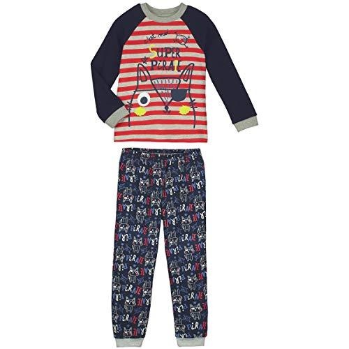 Pyjama Jungen Langarm SUPER Pirat–Größe–6/8Jahre (116/128cm)