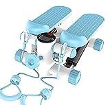 Yongqin Stepper Stair Stepper Machine, Mini Air Climber Twist Stair Stepper con Fascia di Resistenza E Display LCD per Lo Sport Indoor della Palestra della Famiglia Dell'Ufficio