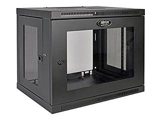 "Tripp Lite 9U Wall Mount Rack Enclosure Server Cabinet with Acrylic Glass Window, 16.5"" Deep, Switch-Depth, Black (B013FDFLDO) | Amazon price tracker / tracking, Amazon price history charts, Amazon price watches, Amazon price drop alerts"