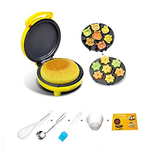 Machines à gaufres et couque Gâteau enfants machines, Waffle, biscuits, pommes de terre rissolées Autre On The Go Petit déjeuner, déjeuner, ou des collations, 2 jeux de cuisson Plateaux Gaufrier
