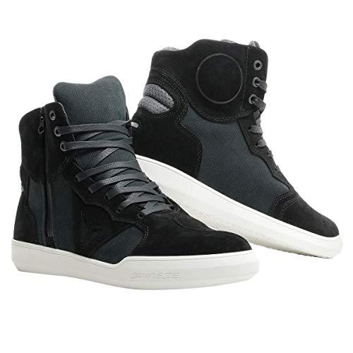 Dainese Metropolis Shoes, Zapatos Moto Hombre, Negro/Antracita, 42 EU